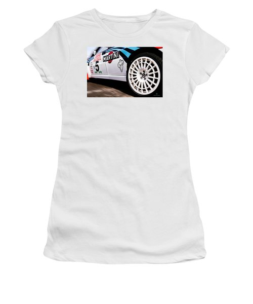 Lancia Delta Hf Integrale Women's T-Shirt (Junior Cut) by Cesare Bargiggia