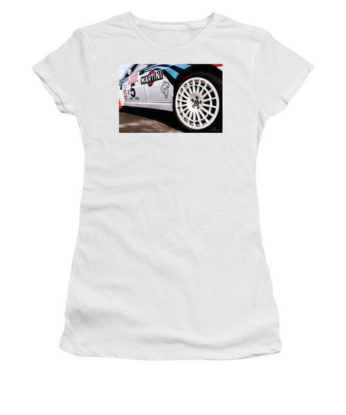 Lancia Delta Hf Integrale Women's T-Shirt (Athletic Fit)