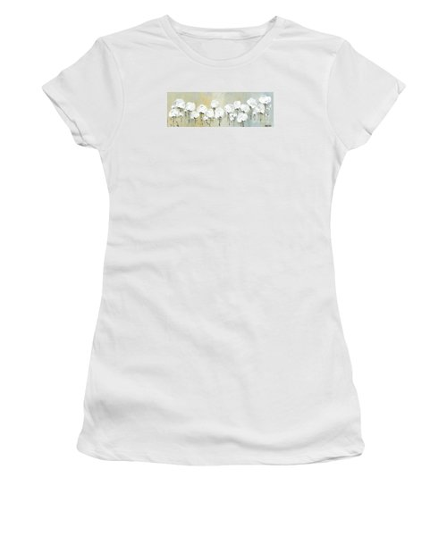 Land Of Cotton Women's T-Shirt (Junior Cut) by Kirsten Reed