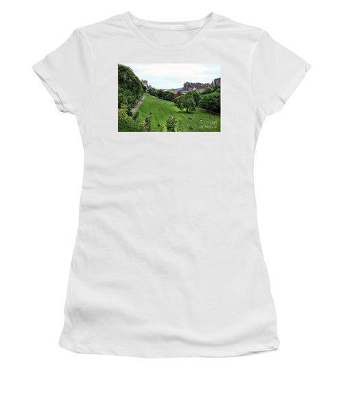 Landscape Edinburgh  Women's T-Shirt