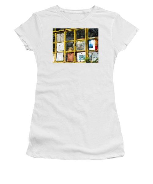 Women's T-Shirt (Junior Cut) featuring the photograph Lantau Island 47 by Randall Weidner