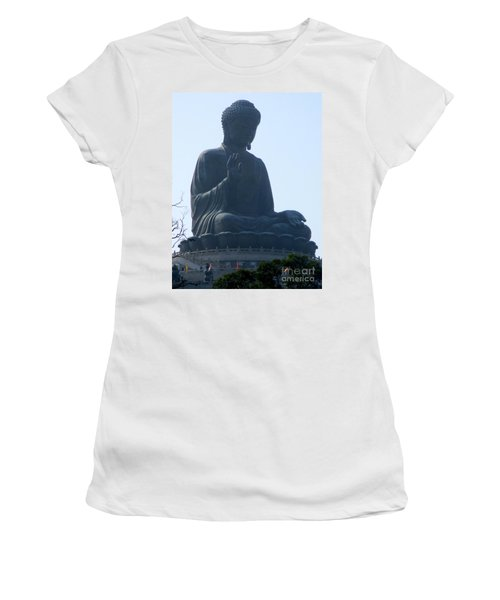Women's T-Shirt (Junior Cut) featuring the photograph Lantau Island 49 by Randall Weidner