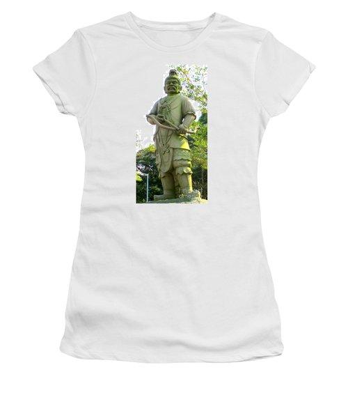 Women's T-Shirt (Junior Cut) featuring the photograph Lantau Island 52 by Randall Weidner