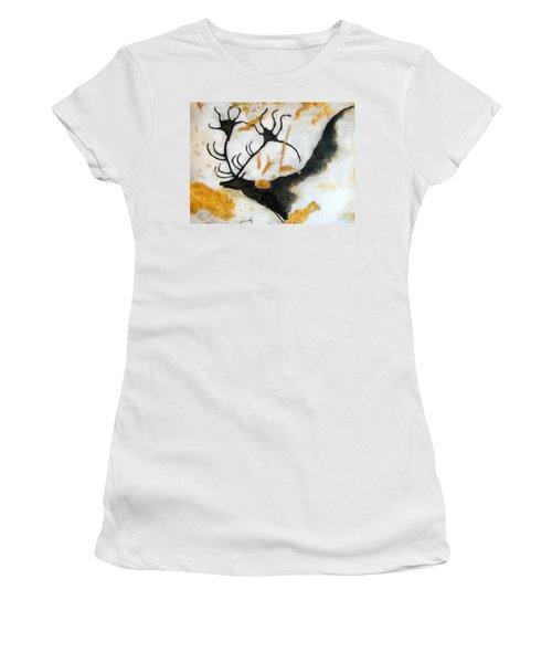 Lascaux Megaceros Deer 2 Women's T-Shirt