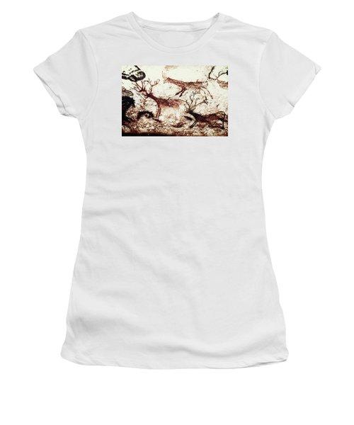Lascaux: Stags Women's T-Shirt