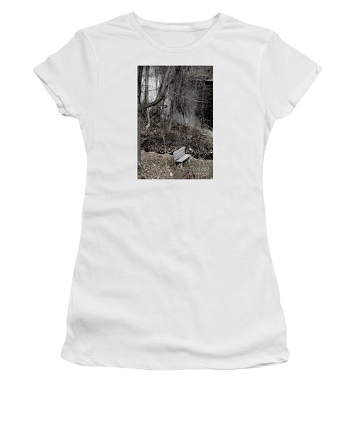 Last Available Seating Women's T-Shirt (Junior Cut) by Jesse Ciazza