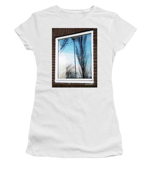 Layers Of Reality Women's T-Shirt (Junior Cut) by Ana Mireles