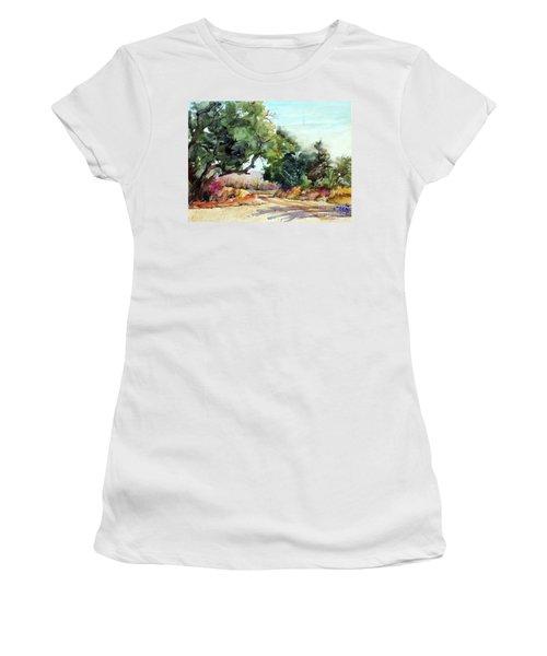 Lbj Grasslands Tx Women's T-Shirt (Junior Cut)