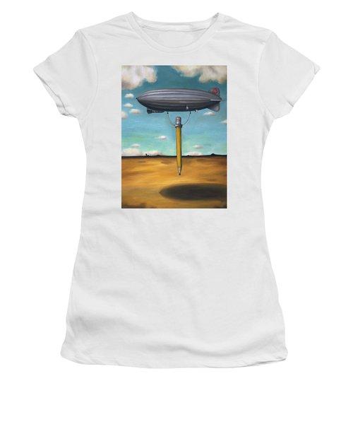 Lead Zeppelin Women's T-Shirt (Athletic Fit)