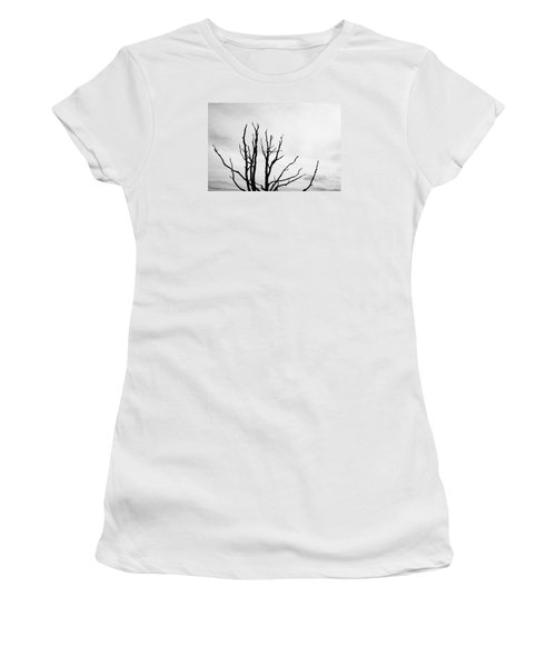 Leafless Tree Women's T-Shirt (Athletic Fit)