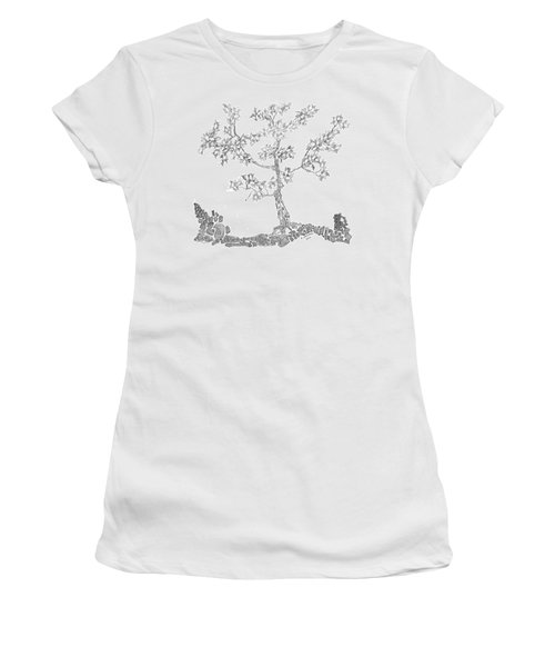 Leafy Jewels Women's T-Shirt (Athletic Fit)
