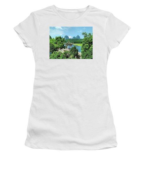 A View In Yangshuo Women's T-Shirt
