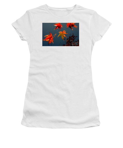 Leaves Falling Down Women's T-Shirt