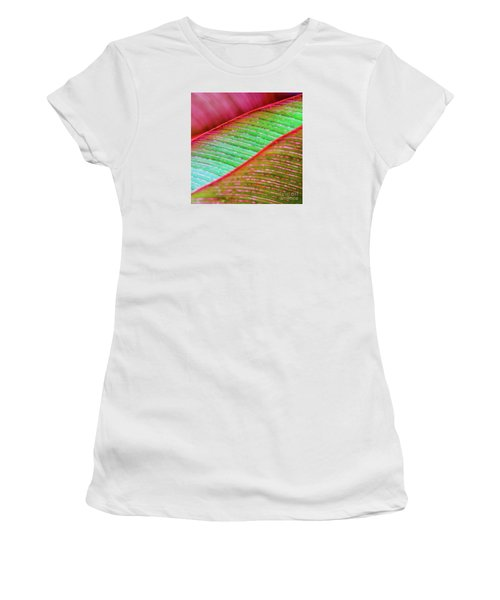 Leaves In Color  Women's T-Shirt