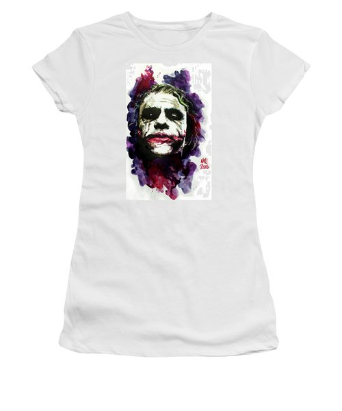 Ledgerjoker Women's T-Shirt (Junior Cut) by Ken Meyer jr