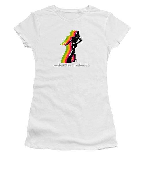 Leigh Bowery 5 Women's T-Shirt (Junior Cut) by Mark Ashkenazi