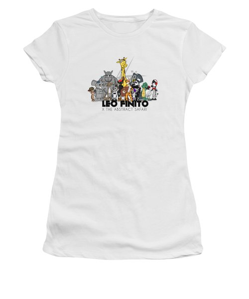 Leo Finito And The Abstract Safari Women's T-Shirt