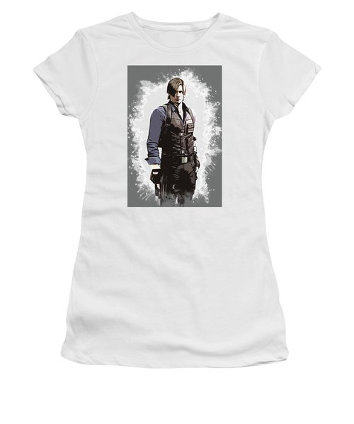 Leon S. Kennedy Women's T-Shirt (Athletic Fit)