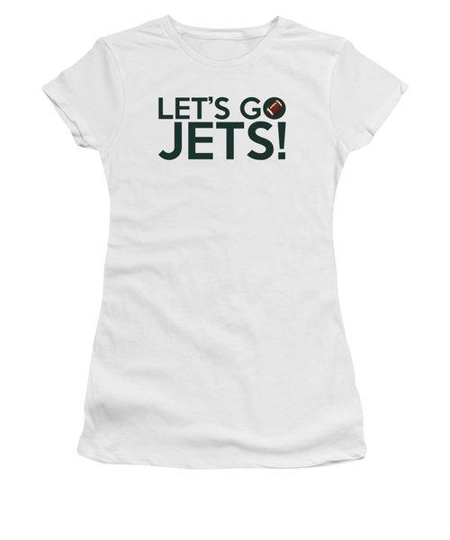 Let's Go Jets Women's T-Shirt