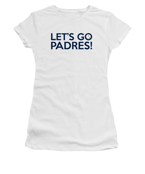 Let's Go Padres Women's T-Shirt