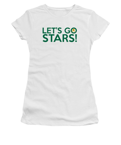 Let's Go Stars Women's T-Shirt (Athletic Fit)