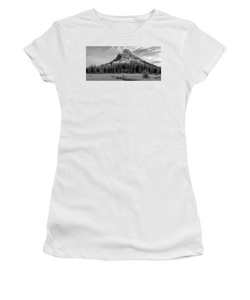 Liberty Mountain At Sunset Women's T-Shirt (Athletic Fit)