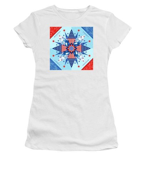 Liberty Quilt Women's T-Shirt