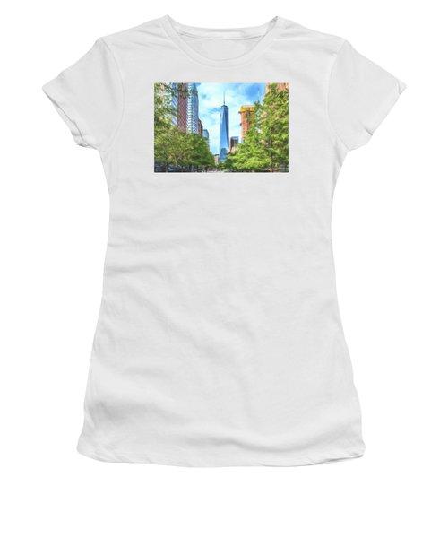 Liberty Tower Women's T-Shirt