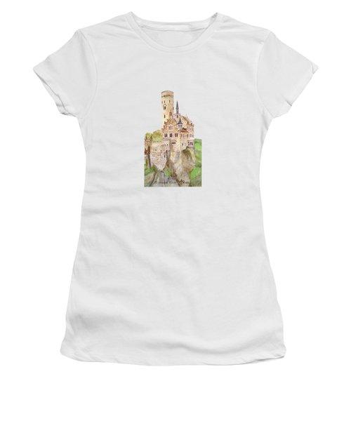 Lichtenstein Castle Women's T-Shirt