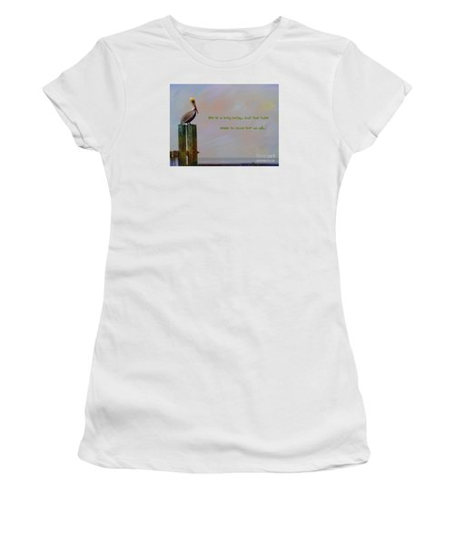 Life Is A Long Song Women's T-Shirt (Athletic Fit)
