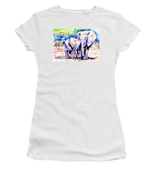 Life Long Bonds Women's T-Shirt (Athletic Fit)