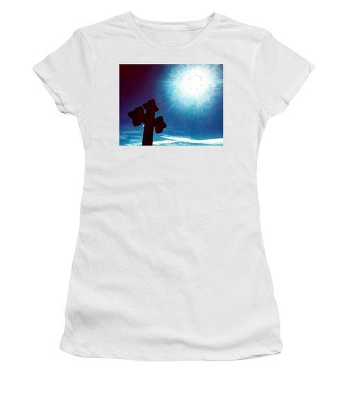 Light And Shadow Clash Women's T-Shirt