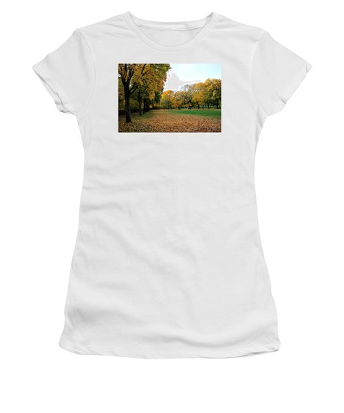 Light Blue Sky  Women's T-Shirt (Athletic Fit)