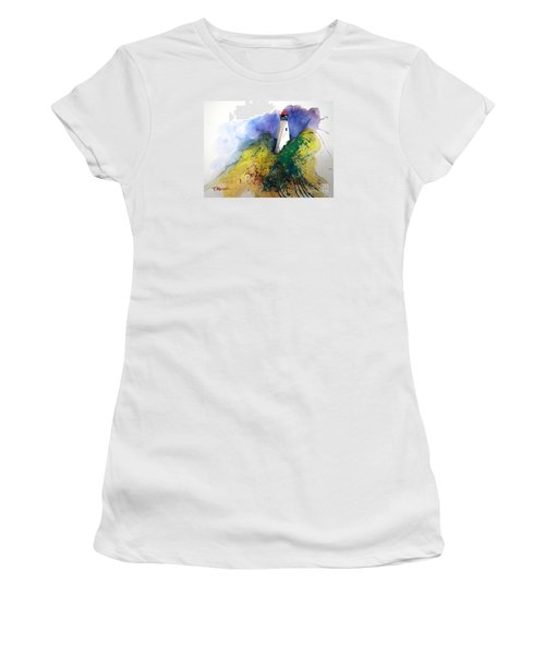 Lighthouse IIi - Original Sold Women's T-Shirt (Junior Cut) by Therese Alcorn