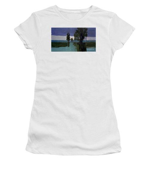 Lights On The Horizon Women's T-Shirt