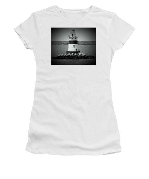 Lights Out-bw Women's T-Shirt