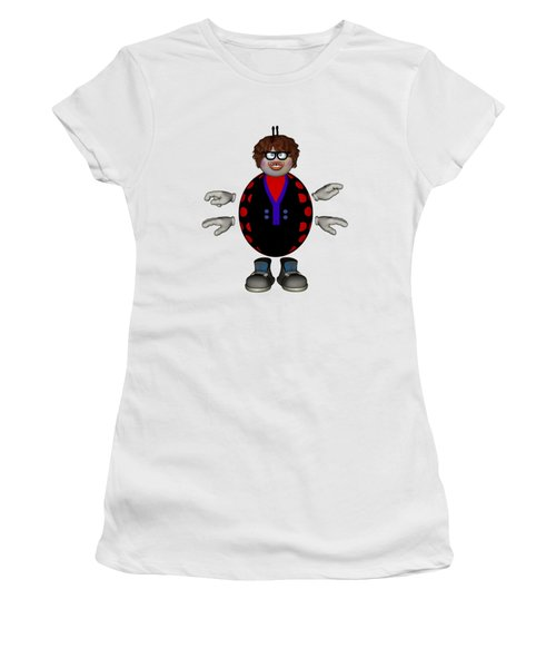 Lily The Ladybug Women's T-Shirt (Athletic Fit)