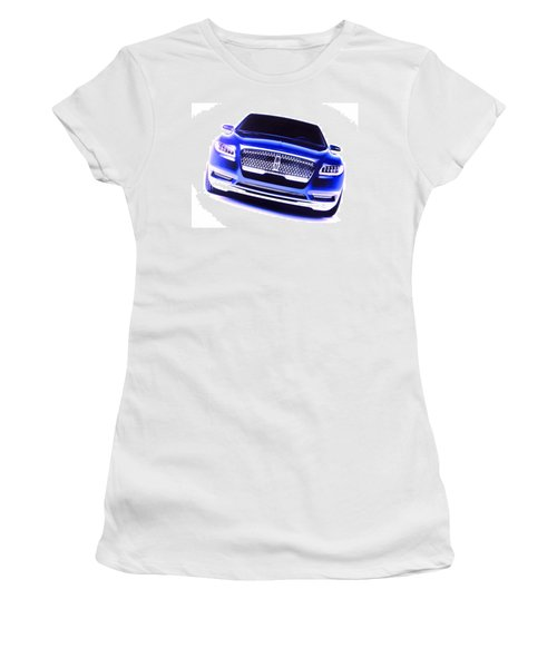 Lincoln Continental Women's T-Shirt (Athletic Fit)