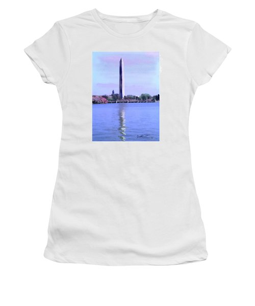 Washington Monument, Dc Women's T-Shirt (Athletic Fit)