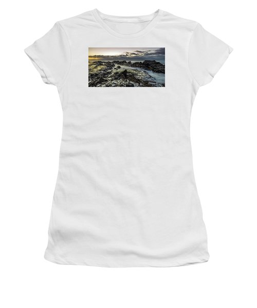 Lines Of Time Women's T-Shirt (Junior Cut) by Mark Lucey