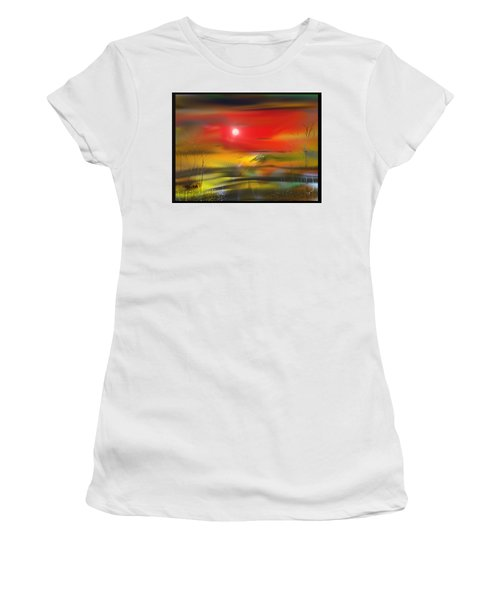 Midnight Flame Women's T-Shirt