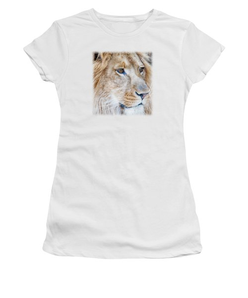 Lion T-shirt V1 Women's T-Shirt (Athletic Fit)