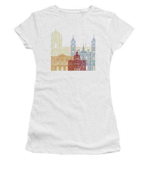 Lisbon Skyline Poster_v2 Women's T-Shirt