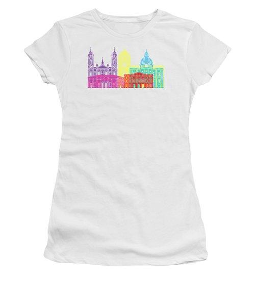 Lisbon V2 Skyline Pop Women's T-Shirt