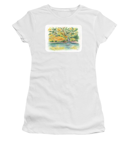 Lithia Park Reflections Women's T-Shirt