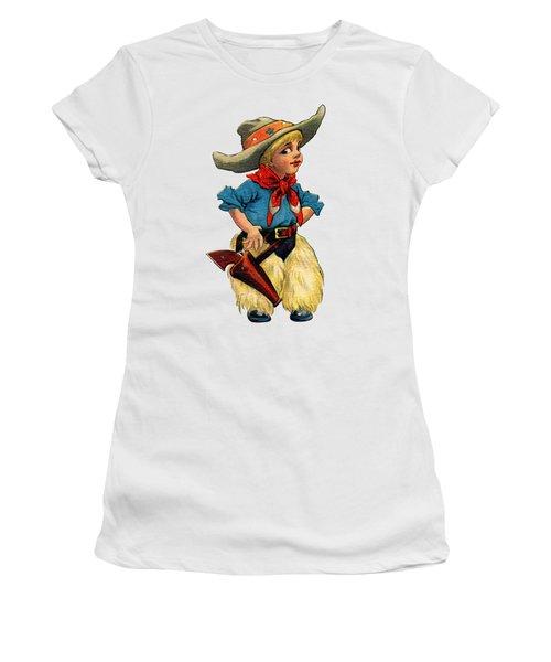 Little Cowboy T Shirt Women's T-Shirt