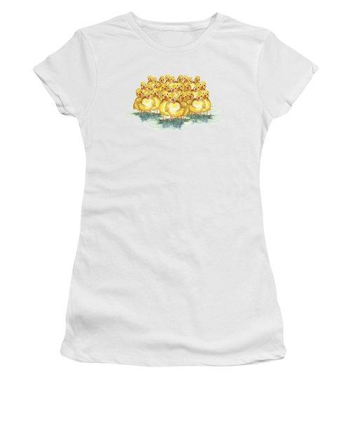 Little Duck Family Women's T-Shirt