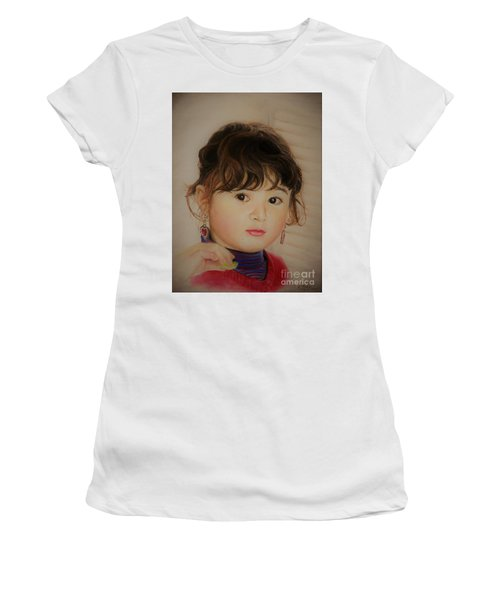 Little Girl Women's T-Shirt (Athletic Fit)