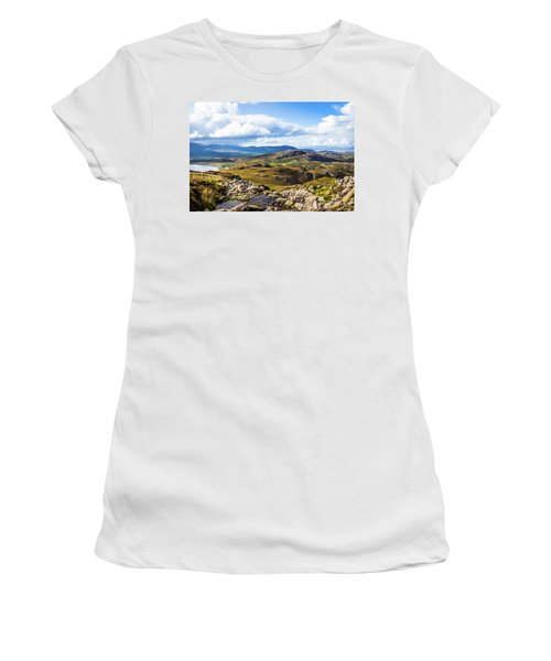 Little Stream Running Down The Macgillycuddy's Reeks Women's T-Shirt (Junior Cut) by Semmick Photo