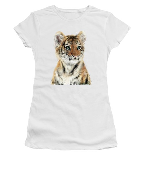 Little Tiger Women's T-Shirt (Athletic Fit)